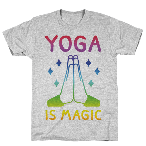 Yoga Is Magic Mens T-Shirt