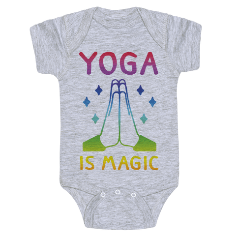 Yoga Is Magic Baby Onesy