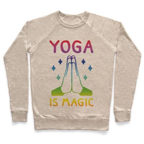 Yoga Is Magic Pullover