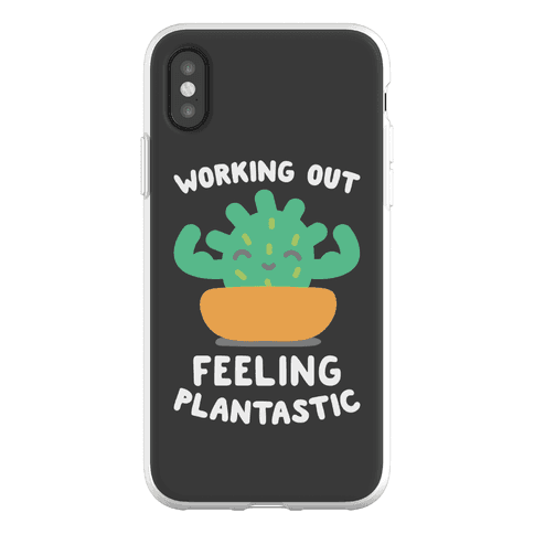 Working Out Feeling Plantastic Phone Flexi-Case