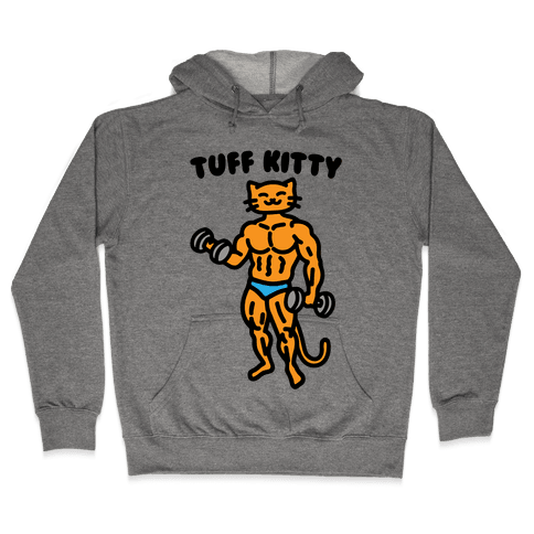 Tuff Kitty Hooded Sweatshirt