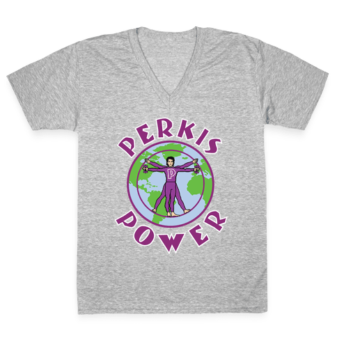 Perkis Power V-Neck Tee Shirt
