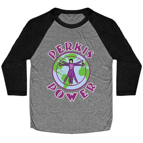 Perkis Power Baseball Tee