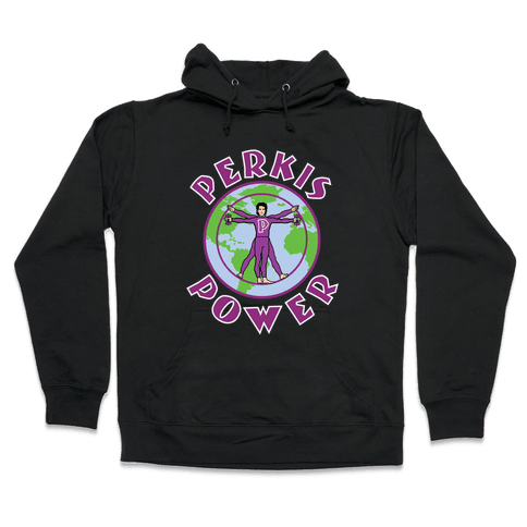 Perkis Power Hooded Sweatshirt
