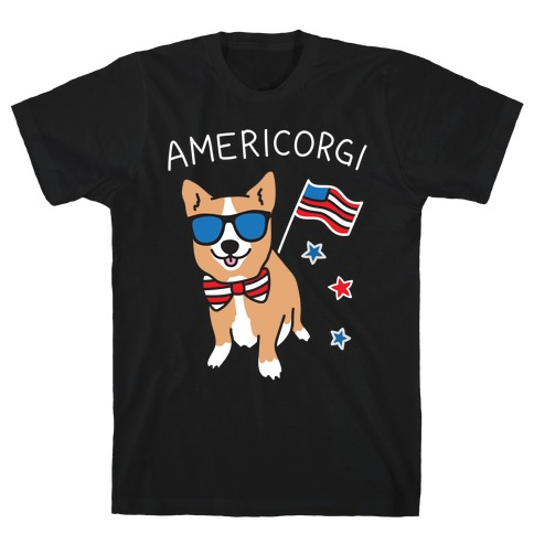 AmeriCorgi Patriotic Corgi T-Shirt
