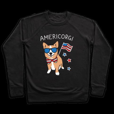 AmeriCorgi Patriotic Corgi Pullover