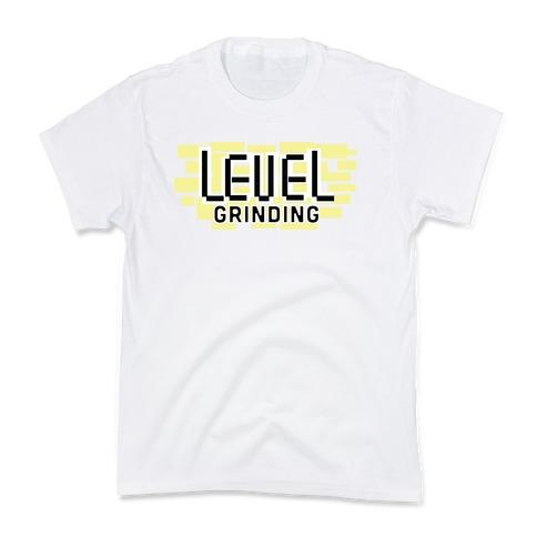 Level Grinding Kids T-Shirt