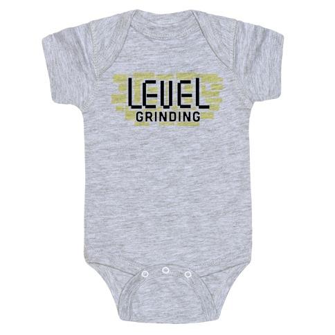 Level Grinding Baby Onesy