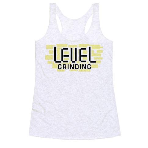 Level Grinding Racerback Tank Top