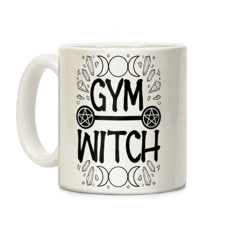 Gym Witch Coffee Mug