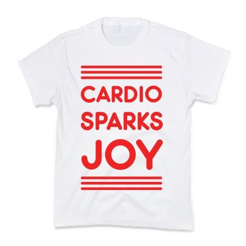 Cardio Sparks Joy Kids T-Shirt