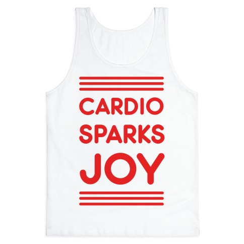 Cardio Sparks Joy Tank Top