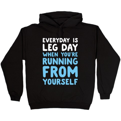 Running From Yourself Hooded Sweatshirt