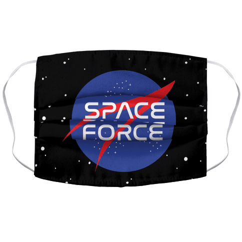 Space Force Parody Face Mask