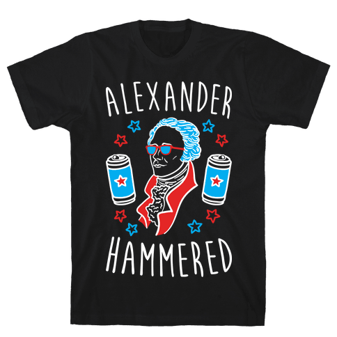 Alexander Hammered Mens T-Shirt