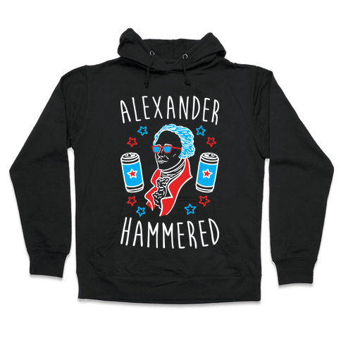 Alexander Hammered Hooded Sweatshirt