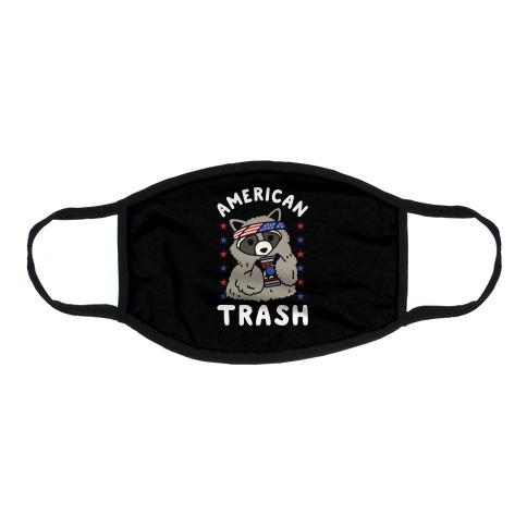 American Trash Flat Face Mask