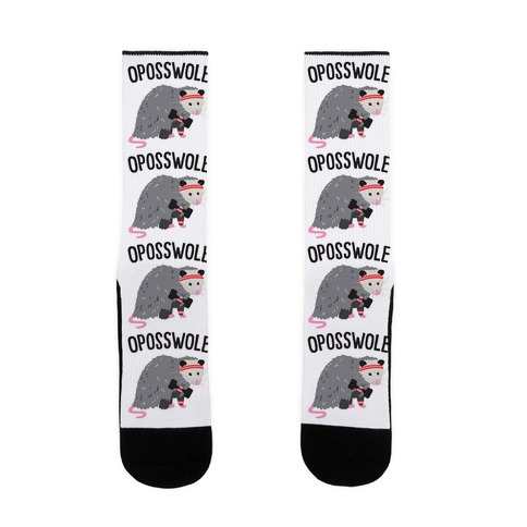 Oposswole Opossum Socks Activate Apparel