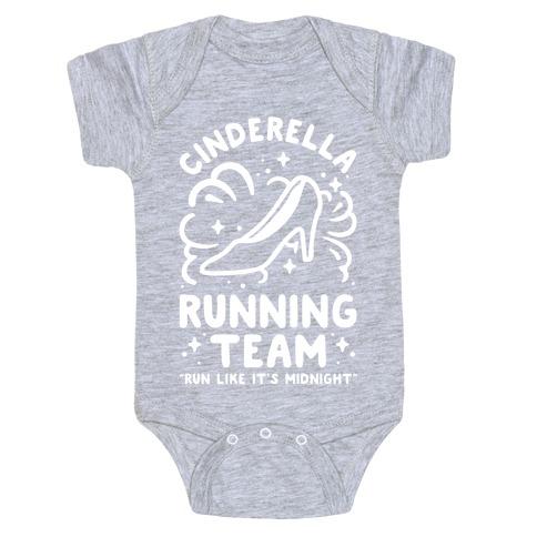 Cinderella Running Team Baby Onesy