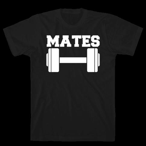 Weight Mates (1 of 2 pair) Mens/Unisex T-Shirt