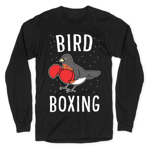 Bird Boxing Long Sleeve T-Shirt