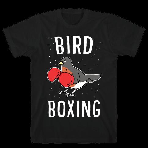 Bird Boxing Mens/Unisex T-Shirt