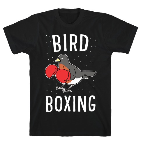 Bird Boxing Mens/Unisex T-Shirt