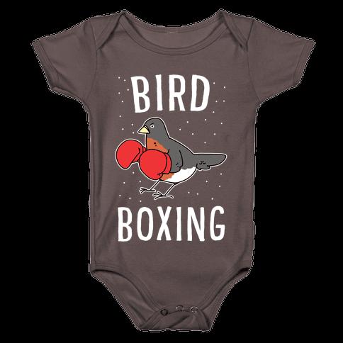 Bird Boxing Baby One-Piece