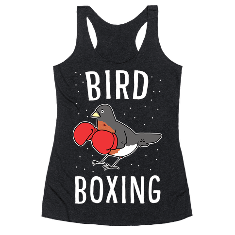 Bird Boxing Racerback Tank Top