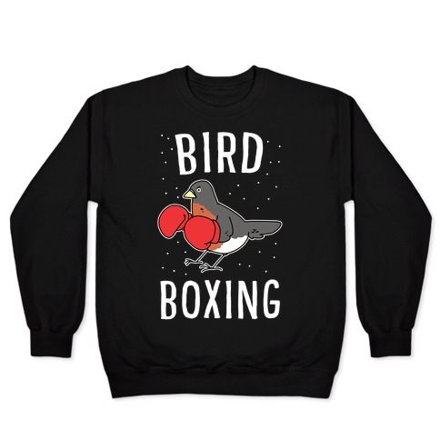 Bird Boxing Pullover