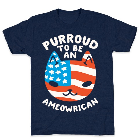 Purroud to be an Ameowrican T-Shirt