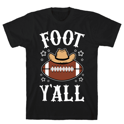 Footy'all Mens/Unisex T-Shirt