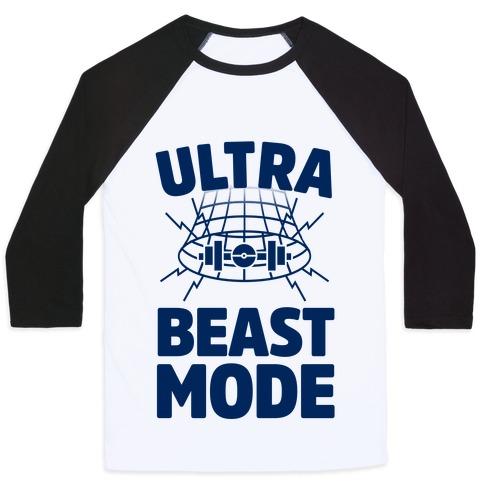 Ultra Beast Mode Baseball Tee