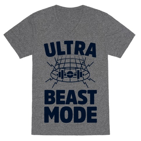 Ultra Beast Mode V-Neck Tee Shirt