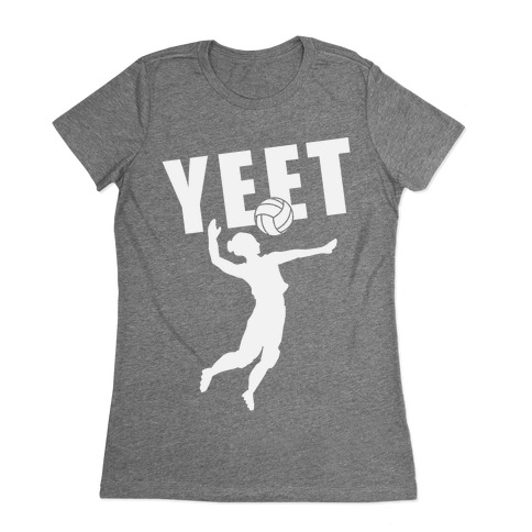 Volleyball YEET Womens T-Shirt