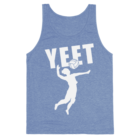 Volleyball YEET Tank Top