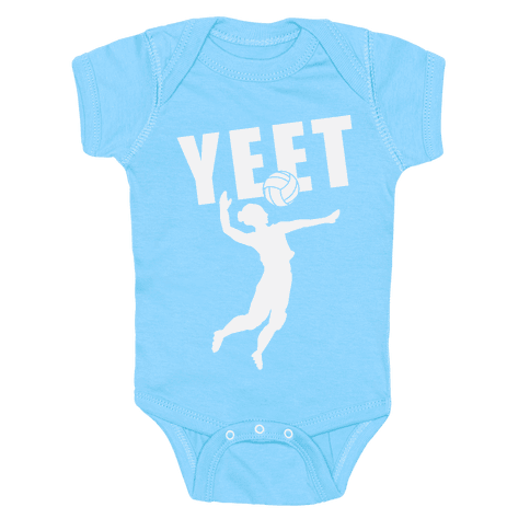 Volleyball YEET Baby Onesy