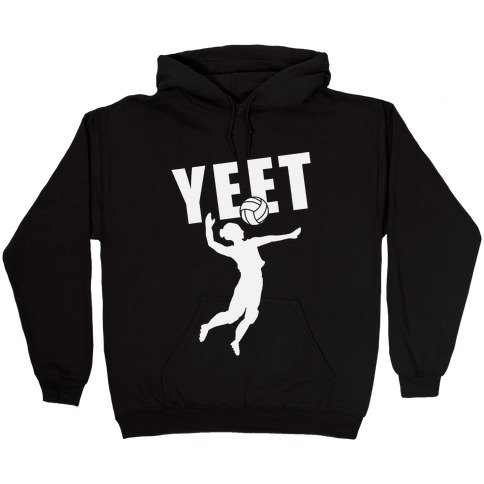 Volleyball YEET Hooded Sweatshirt
