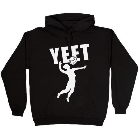 Volleyball YEET Hooded Sweatshirt
