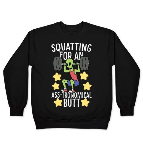 Squatting for an Ass-tronomical Butt Pullover