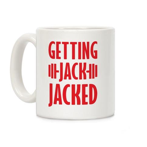 Getting Jack Jacked Parody Coffee Mug