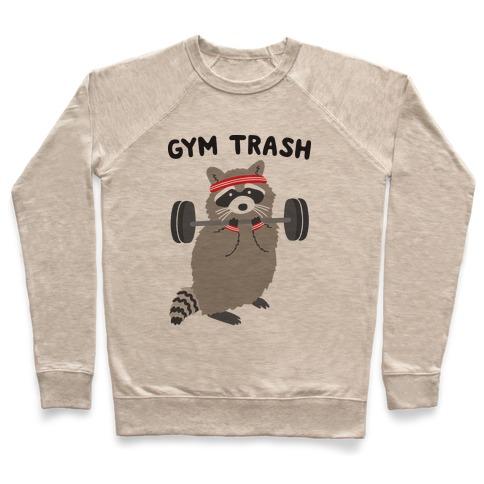 Gym Trash Raccoon Pullover