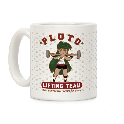 Pluto Lifting Team Coffee Mug