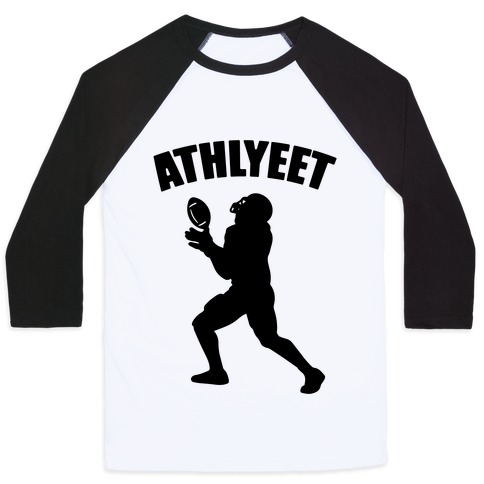 Athlyeet Football Baseball Tee