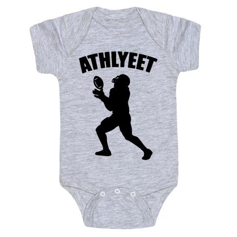 Athlyeet Football Baby Onesy
