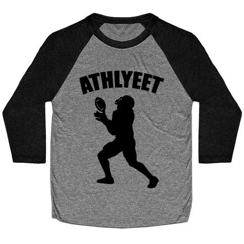 Athlyeet Football Baseball Tee