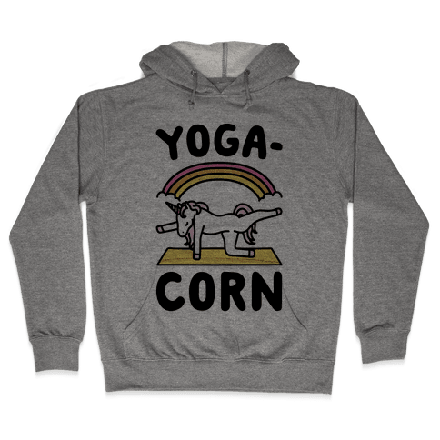 Yoga-Corn  Hooded Sweatshirt