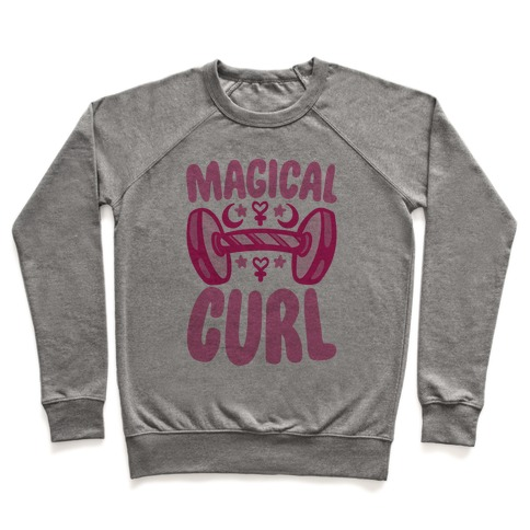 Magical Curl Parody Pullover
