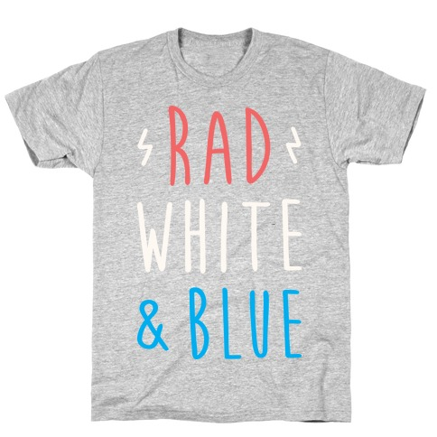 Rad White & Blue T-Shirt