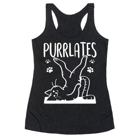 Purrlates Racerback Tank Top